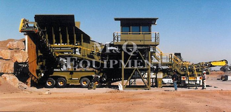 "40"" x 30"" / Other Brands / Mobile Crushing Plant"