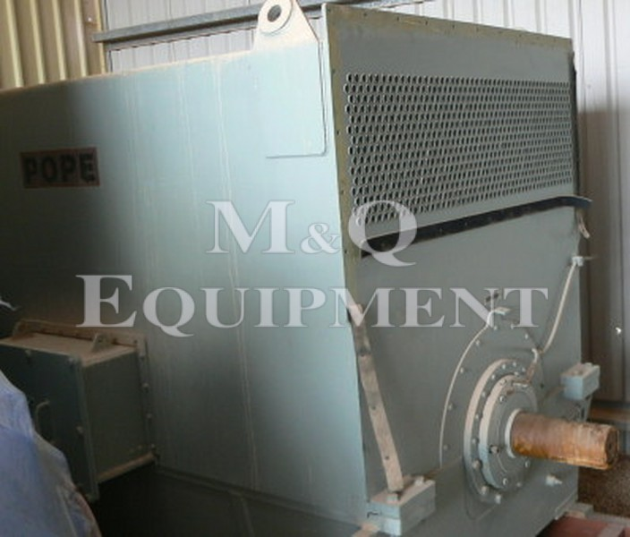 2100 KW / POPE / Electric Motor