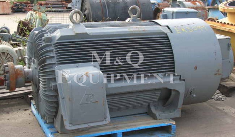 400 KW / TECO / Electric Motor