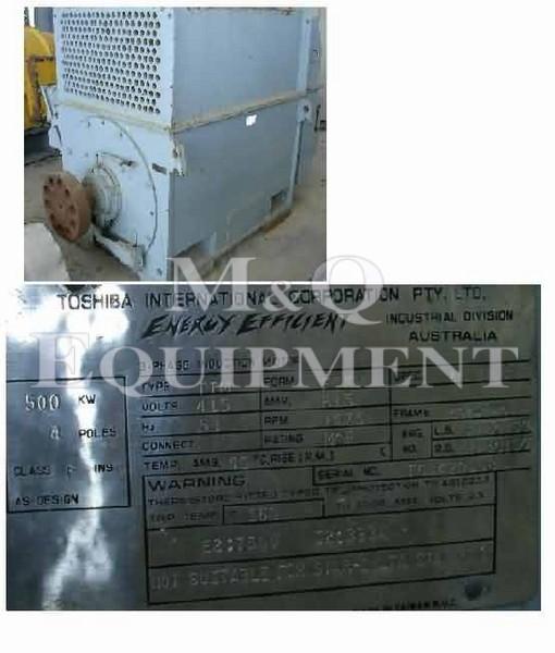 500 KW / TOSHIBA / Electric Motor