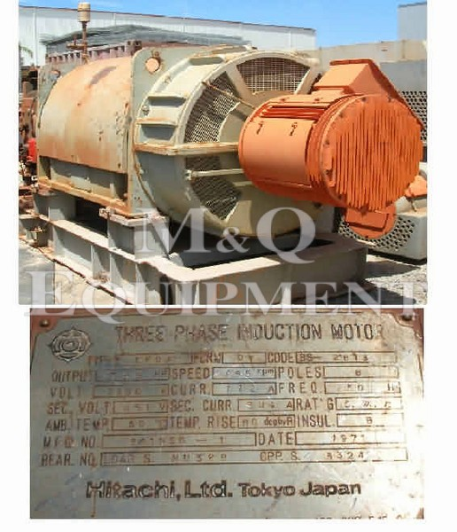 556 KW / HITACHI / Electric Motor