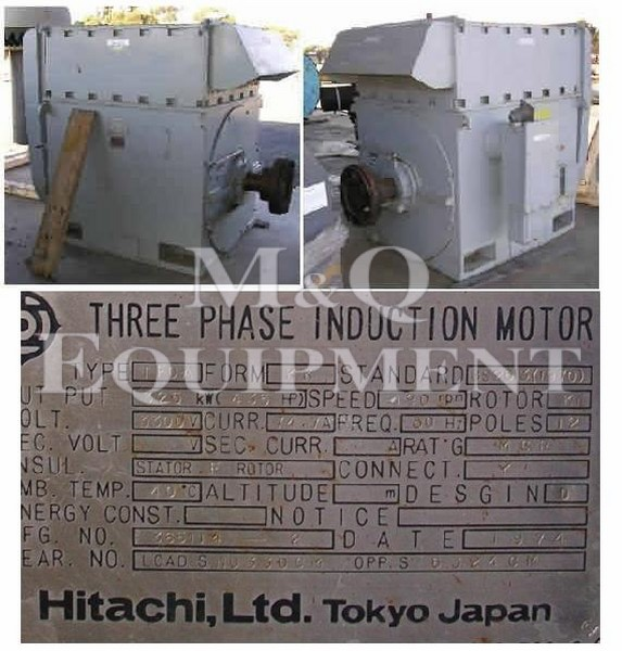 325 KW / HITACHI / Electric Motor
