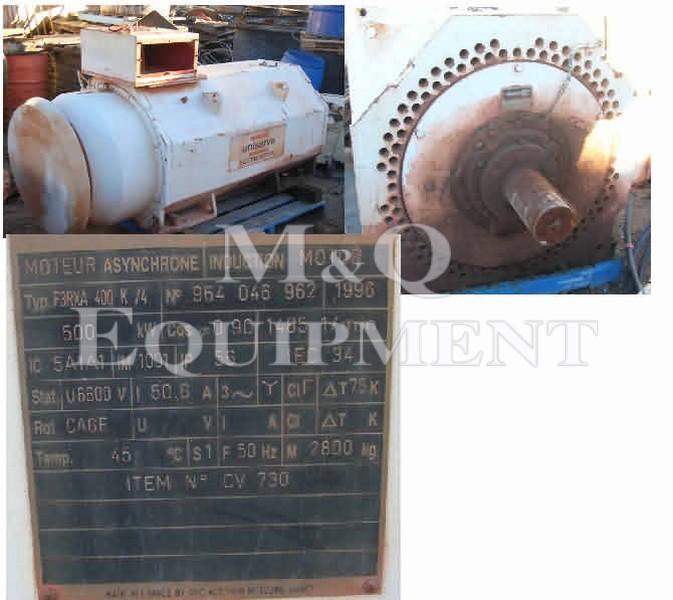 500 KW / GEC ALSTOM / Electric Motor
