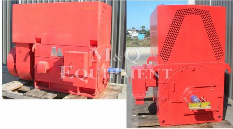 600 KW / TECO / Electric Motor