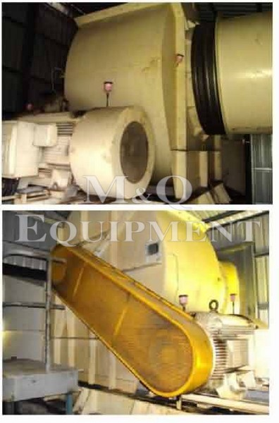 80,000 CFM / Howden/Wolf / Mine Vent Fan