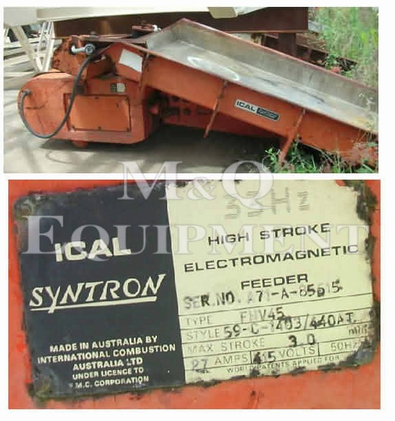 FHV 45 / Syntron / Vibrating Feeder