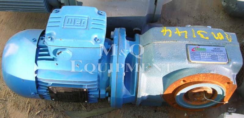 .37 KW / Fenner / Gear Motor