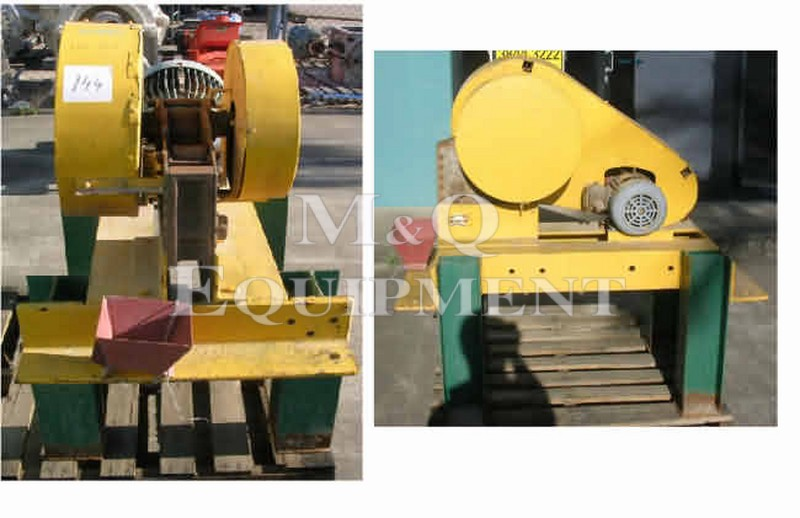 "3"" x 3"" / Vangelder / Laboratory Jaw Crusher"