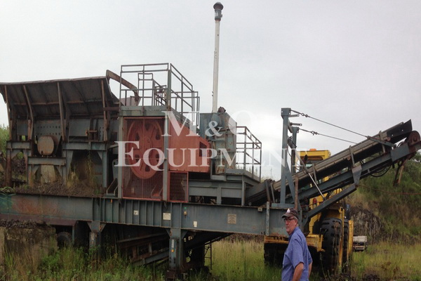 42 x 30 / Brown Lennox / Mobile Crushing Plant