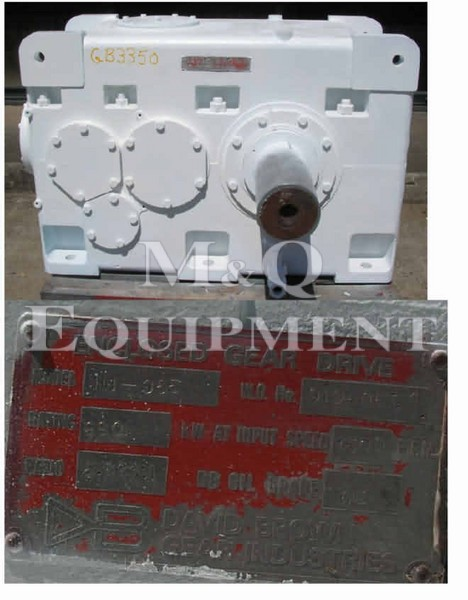 990 KW / David Brown / Gear Box